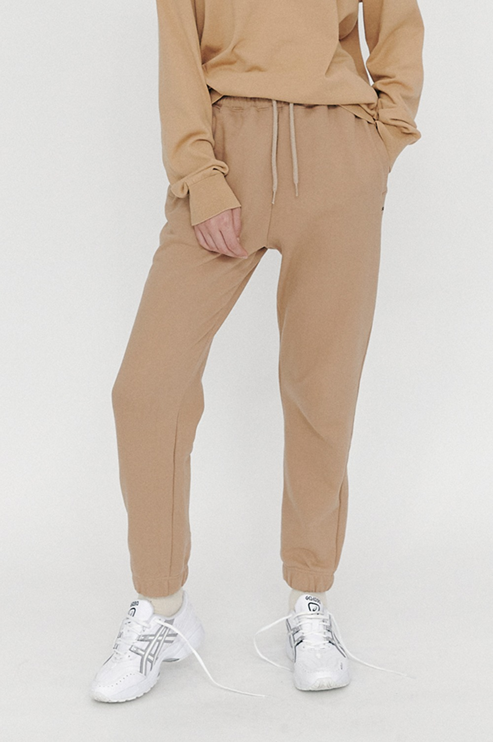 New Active Sweat Pants (Beige)