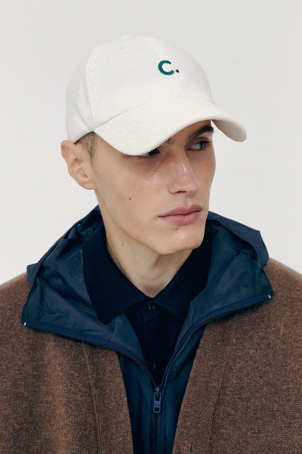 [FW20 CLOVE] Corduroy New Fit Ball Cap (White)